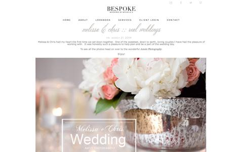 Screenshot of Blog bespokebymk.com - Bespoke By Michelle.K » Blog - captured Oct. 5, 2014