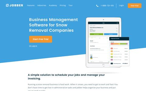 Snow Removal Management and Billing Software | Jobber