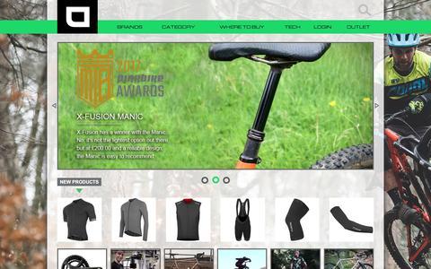 Screenshot of Home Page upgradebikes.co.uk - UK Bikes, Bike Parts & Accessories - Upgrade Bikes - captured March 4, 2018