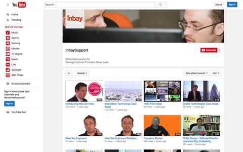 InbaySupport  - YouTube
