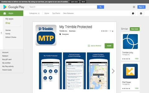 My Trimble Protected - Android Apps on Google Play