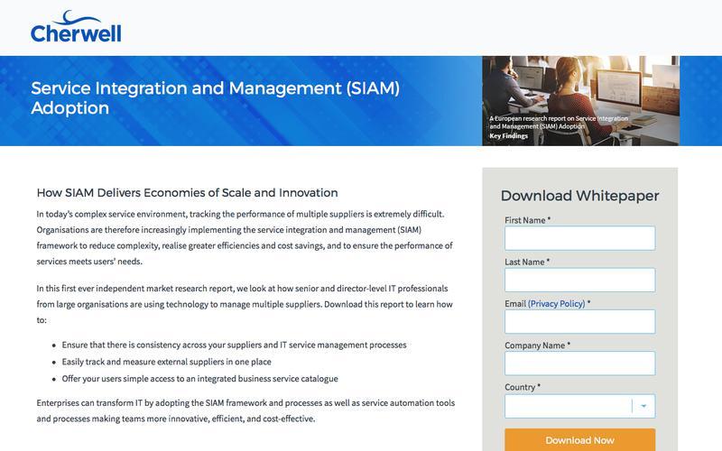 Whitepaper | Service Integration and Management (SIAM) Adoption