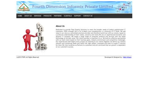 Screenshot of About Page fdipl.com - About Us   FDIPL - captured Oct. 5, 2014