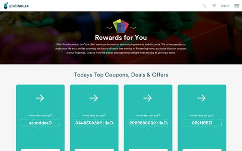 Screenshot of grabhouse.com - Rewards | Grabhouse - captured July 1, 2016