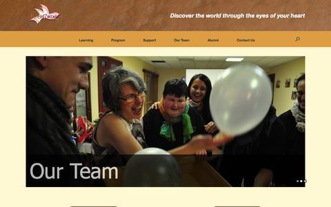 Screenshot of Team Page intercordiacanada.org - Our Team – Intercordia Canada - captured June 8, 2017