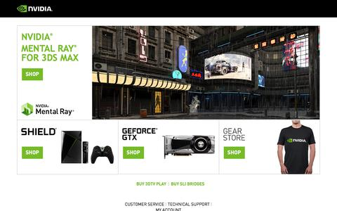 NVIDIA Online Store - Welcome