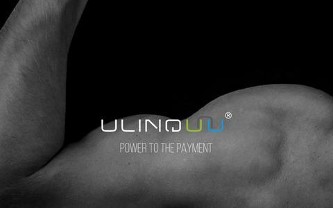 Screenshot of Home Page ulinq.com - Home - Ulinq - captured Sept. 20, 2018