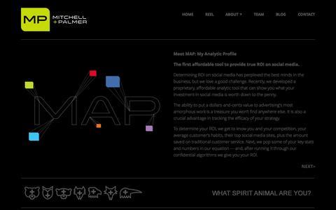 Screenshot of Maps & Directions Page mitchellpalmer.com - MAP | Mitchell+Palmer - captured Oct. 26, 2014