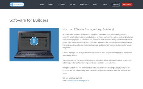 E Works Manager - Software for builders