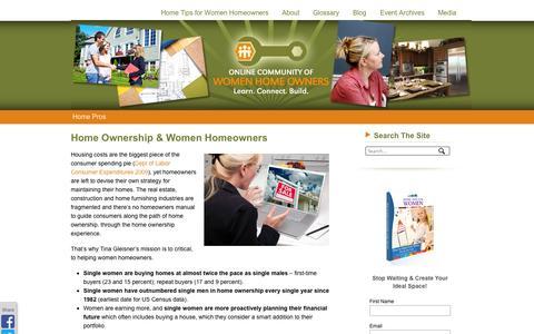 Screenshot of Press Page hometips4women.com - Media | Home Tips for WomenHome Tips for Women - captured Sept. 22, 2014