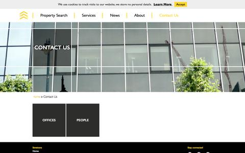 Screenshot of Contact Page strettons.co.uk - Strettons - Contact Us - captured Sept. 23, 2018