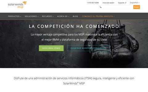 SolarWinds MSP: la plataforma líder de administración de servicios informáticos (ITSM)