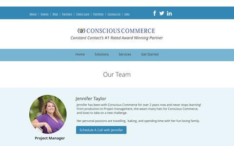 Screenshot of Team Page cc94.com - Conscious Commerce - captured Dec. 5, 2015