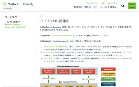 Screenshot of Case Studies Page collibra.com - コッリブラの知識体系–コッリブラ大学 - captured Feb. 12, 2020