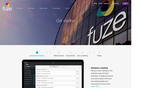 Get started   Fuze