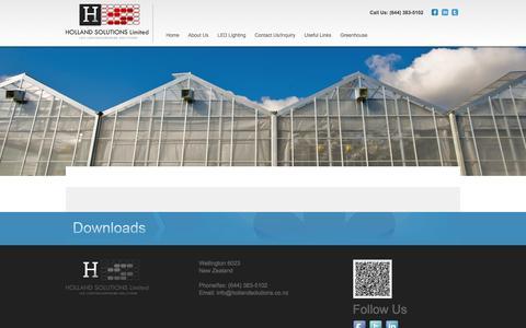 Screenshot of Press Page hollandsolutions.co.nz - Media || HOLLAND SOLUTIONS Limited - captured Jan. 23, 2016