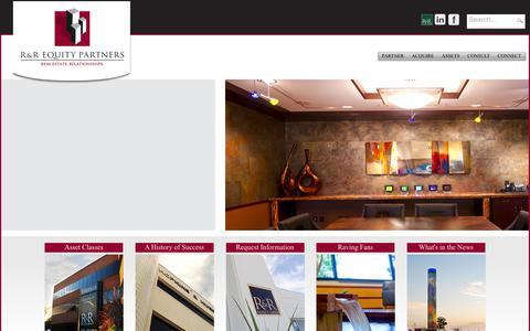 Screenshot of Login Page rrequity.com - User Log In - captured Feb. 22, 2016