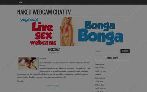 Screenshot of Home Page naked-webcam-chat-tv.com - Naked Webcam Chat TV. - The Best Adult Dating Site for Nude Webcam Chat. - captured Sept. 19, 2014