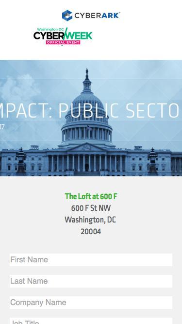 CyberArk Impact: Public Sector