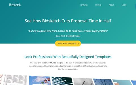 Client Proposal Software & Quoting Software | Bidsketch