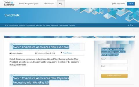 Screenshot of Blog switchcommerce.com - Blog - Switch Commerce - captured Oct. 9, 2014