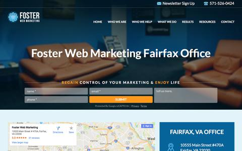 Internet Marketing Company Fairfax, VA | Foster Web Marketing