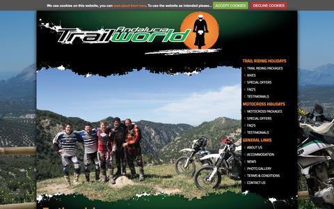 Screenshot of Testimonials Page trailworld.co.uk - Testimonials : What Trailworld Customers Say : Trailworld Spain, Andalucia - captured Dec. 20, 2016