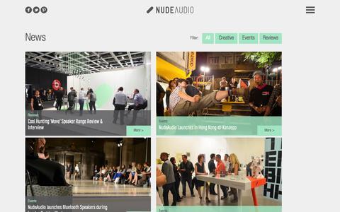 Screenshot of Press Page nudeaudio.com - NudeAudio   News - captured Sept. 24, 2014