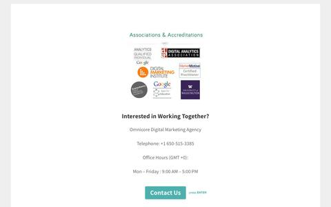 Contact Us - Omnicore Digital Marketing Agency