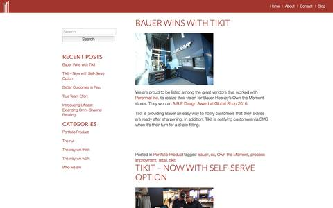 Screenshot of Blog getlift.co - Blog | Lift | Just another WordPress site - captured Nov. 8, 2016