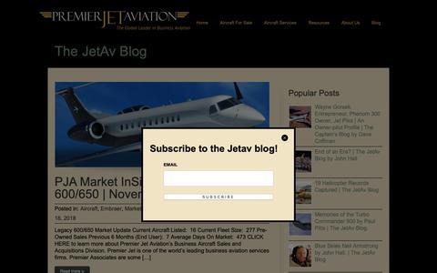 Screenshot of Blog jetav.com - Jetav | Blog - captured Dec. 15, 2018