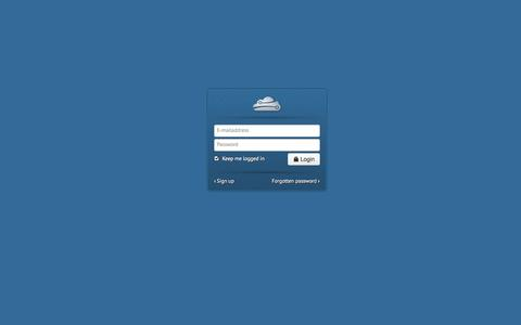 Screenshot of Login Page skylegs.com - Skylegs - Login - captured Oct. 9, 2014