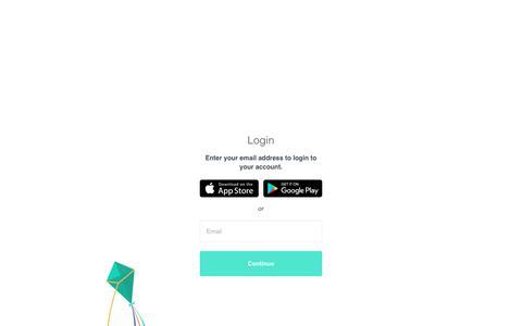 Screenshot of Login Page unroll.me - Login – Unroll.Me - captured Jan. 5, 2018