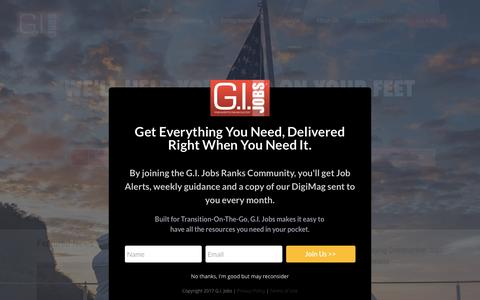 Civilian Jobs And Careers For Military Veterans | G.I. Jobs