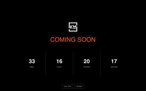 Screenshot of Home Page kanishmedia.nl - Kanish Media | Under Construction - captured Jan. 27, 2015