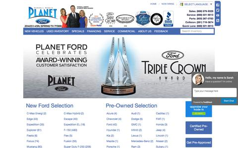 Planet Ford Spring | Houston |  Spring  Hempstead  Tomball  Manvel  Aldine