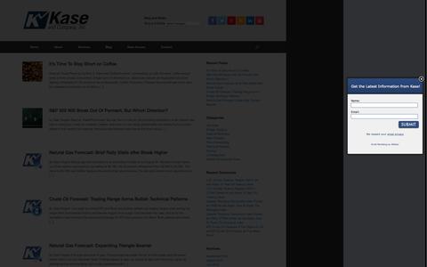 Screenshot of Blog kaseco.com - Blog - Kase and Company, Inc. - captured Sept. 24, 2015
