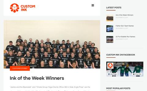 CustomInk Inspirations – Stories, Slogans, Sayings, Team Names, & Event Ideas – Welcome to CustomInk's blog. A resource for inspirational content, customer photos, team names and t-shirt slogans. Lots of ideas for groups and occasions!