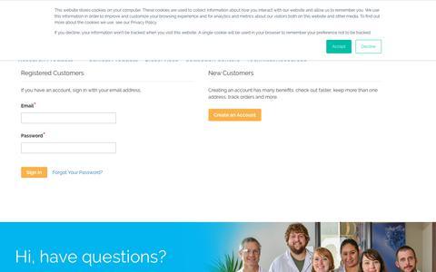 Screenshot of Login Page stemexpress.com - Log in | StemExpress - captured Sept. 21, 2018