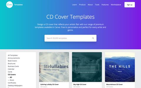 CD Cover Templates - Canva