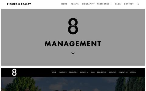 Screenshot of Team Page figure8re.com - Management - Figure 8 Realty - captured Oct. 10, 2018