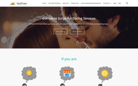 Datesauce – Tinder Swoon Grindr Dating Clone Script |  APPDUPE