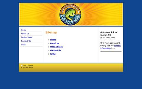 Screenshot of Site Map Page rubyourmahi.com - Rub Your Mahi - The Ultimate Fish Rub - Rub Your Mahi - Fish Rub, Grilled Fish, Mahi Rub, Fish Seasoning - captured Oct. 26, 2014