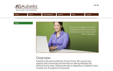 Screenshot of About Page aubella.com - Aubella   Malaysia My Second Home Agent   About - captured Nov. 21, 2016