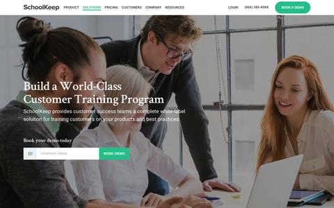 Online Customer Training Solutions for Businesses