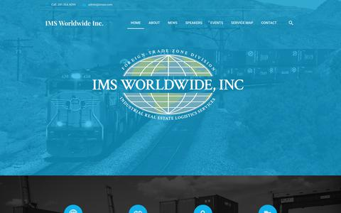 Screenshot of Home Page imsw.com - Home > IMS Worldwide Inc. - captured Sept. 30, 2017