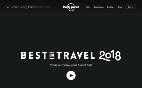Best in Travel 2018 - Lonely Planet