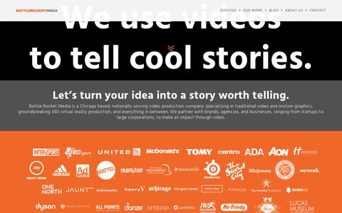 Chicago Video Production | Bottle Rocket Media