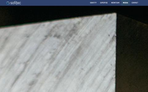Screenshot of Press Page sofitec.es - Sofitec Communication - captured Sept. 30, 2014
