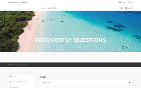 Screenshot of Privacy Page FAQ Page seductiveresorts.com - Seductive Resorts - The best experience - captured Sept. 21, 2018